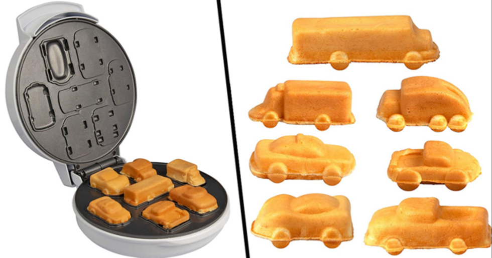 Car and Truck Waffle Maker Is Like Eating Hot Wheels Vehicles for Breakfast