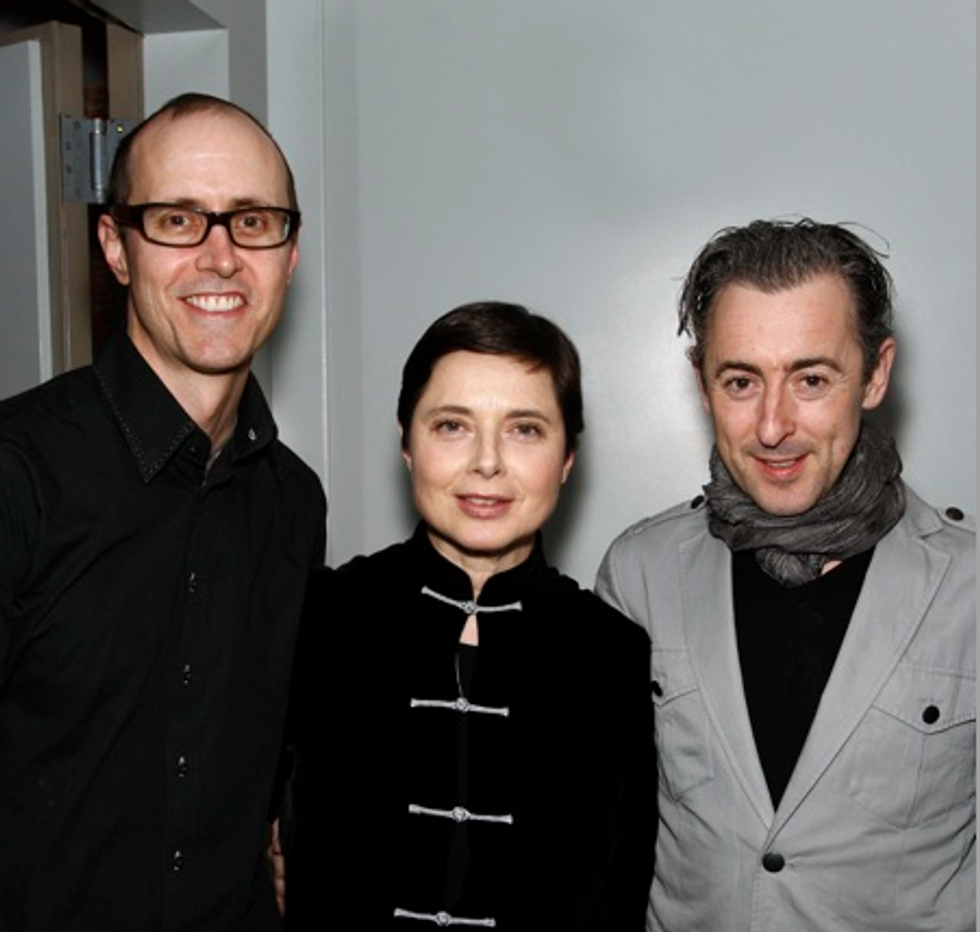 About Last Night... Isabella Rossellini's Animals Distract Me Screens at SoHo House