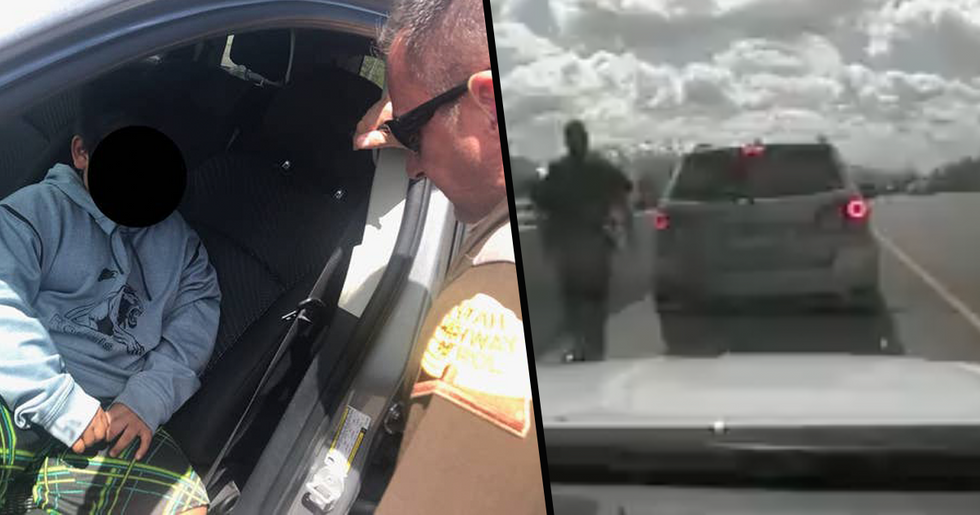 5-Year-Old Boy Pulled Over by Police While Trying to Drive to California to Buy a Lamborghini