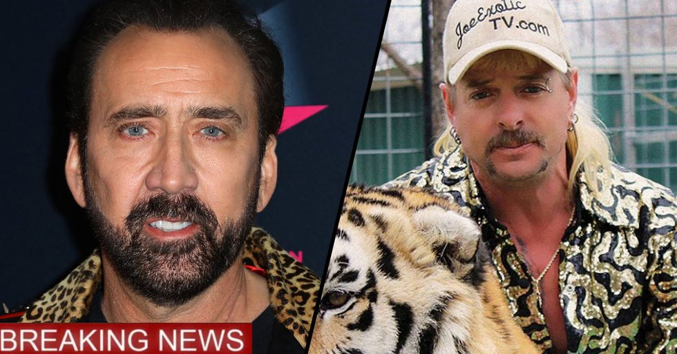 Nicolas Cage Will Play 'Tiger King's' Joe Exotic in New Scripted TV Show
