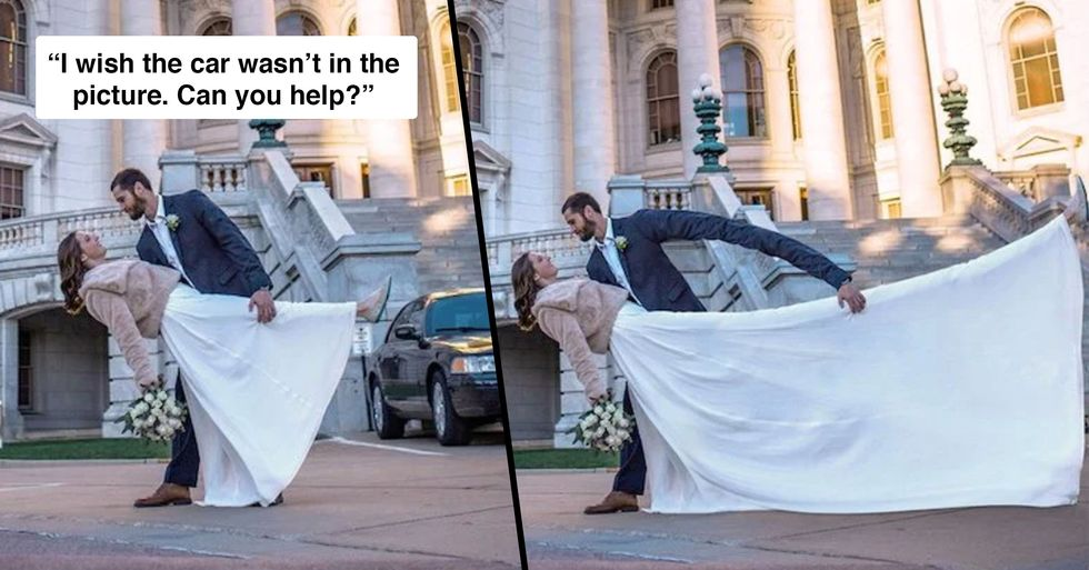 Guy Who Takes Photoshop Requests Literally Hilariously Strikes Again