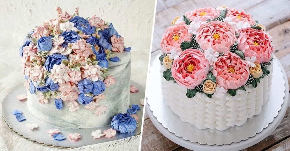 Here Are a Whole Bunch of Beautiful Flower Cakes to Celebrate the Return of Spring