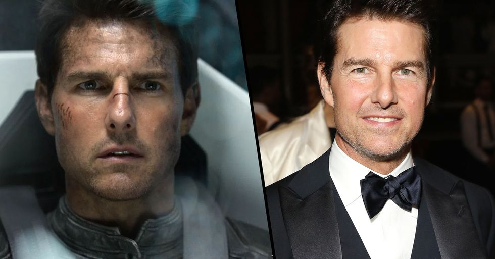 NASA Confirms That Tom Cruise Will Shoot a Movie on the Space Station