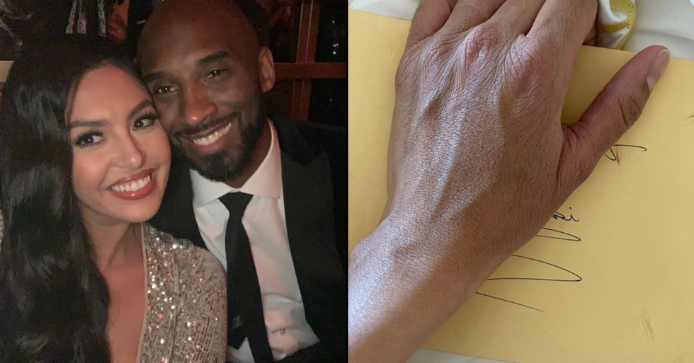 Vanessa Bryant Discovers Unopened Love Letter From Late Kobe Bryant