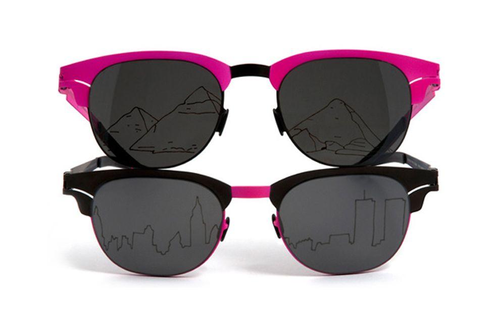 Agathe Snow's Sunglasses + Janice Joplin's Purse in Today's Style Scraps