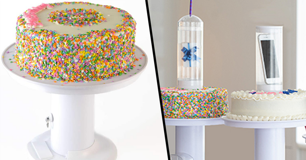 Surprise Cake With Hidden Gift Pod Is the Sweetest Way to Give Presents