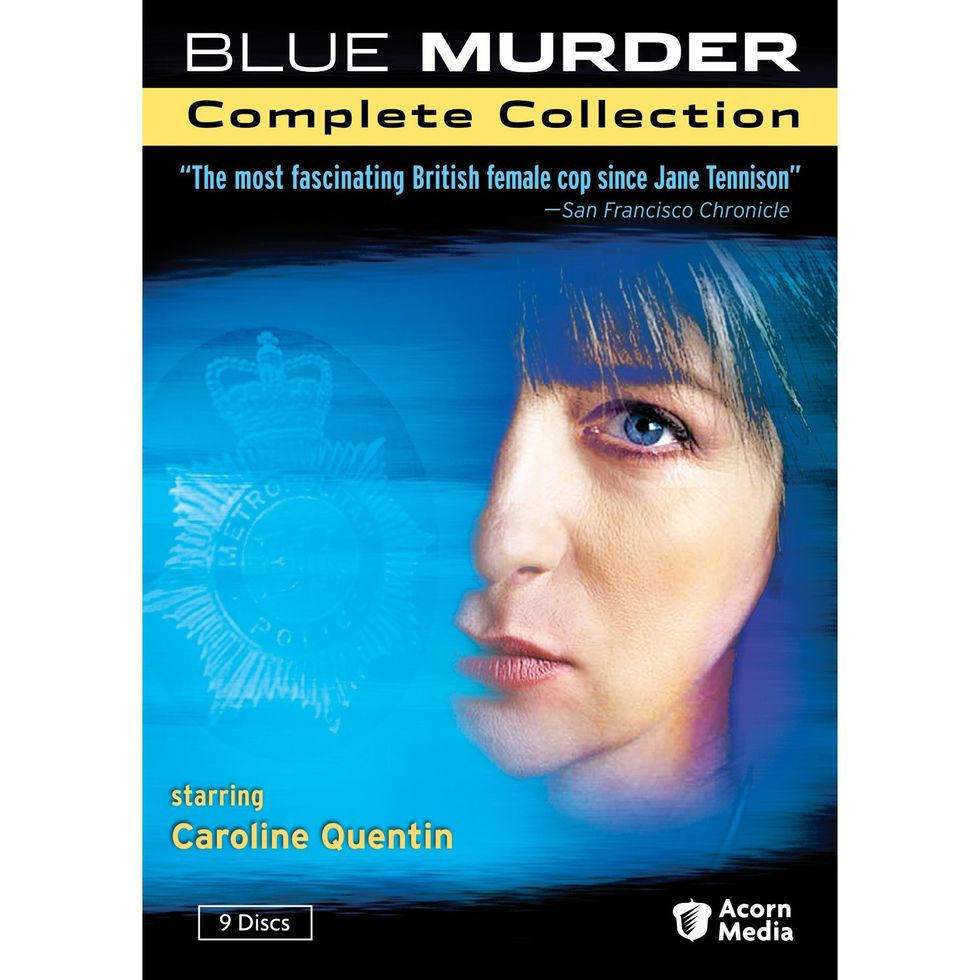 Layered, Complex Blue Murder: The Complete Collection On DVD