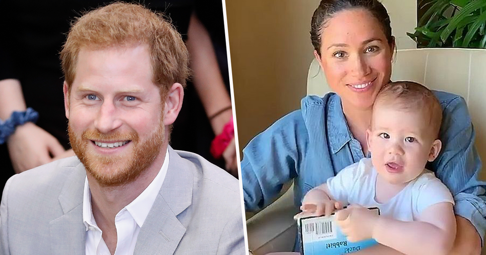 People Fall Even More in Love With Prince Harry After Archie's Birthday Video
