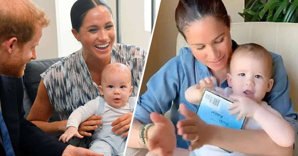 People Think Video of Meghan Markle Reading to Archie Proves 'Prince Harry Does Most of the Parenting'