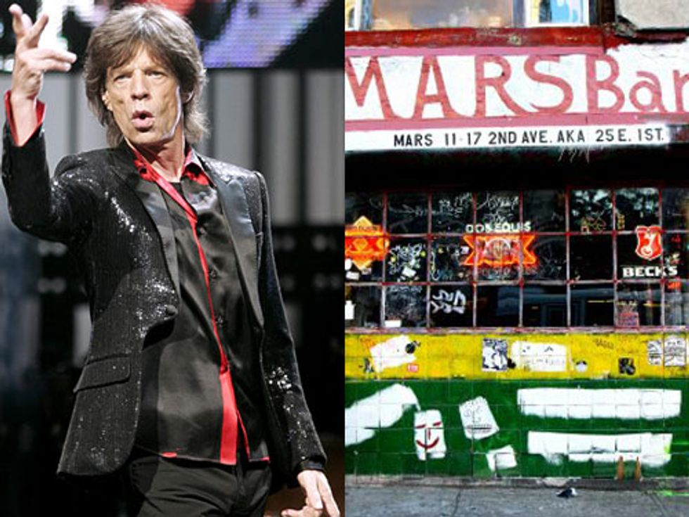 Mick Jagger to Make His Grammys Debut + Mars Bars Starts Packing in Today's Eight Items or Less