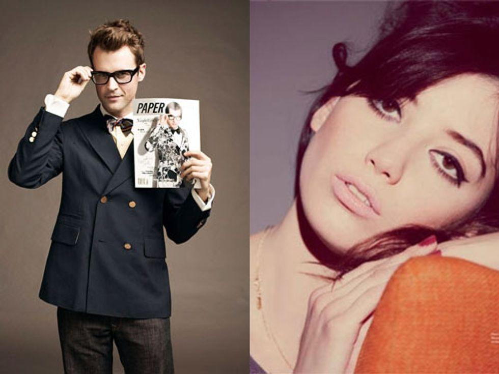 Get a Ride From Brad Goreski + Daisy Lowe In Praise of Staying Clothed in Today's Style Scraps
