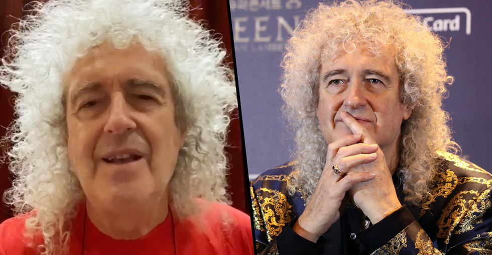 Queen Legend Brian May Hospitalized After 'Ripping Buttocks to Shreds'