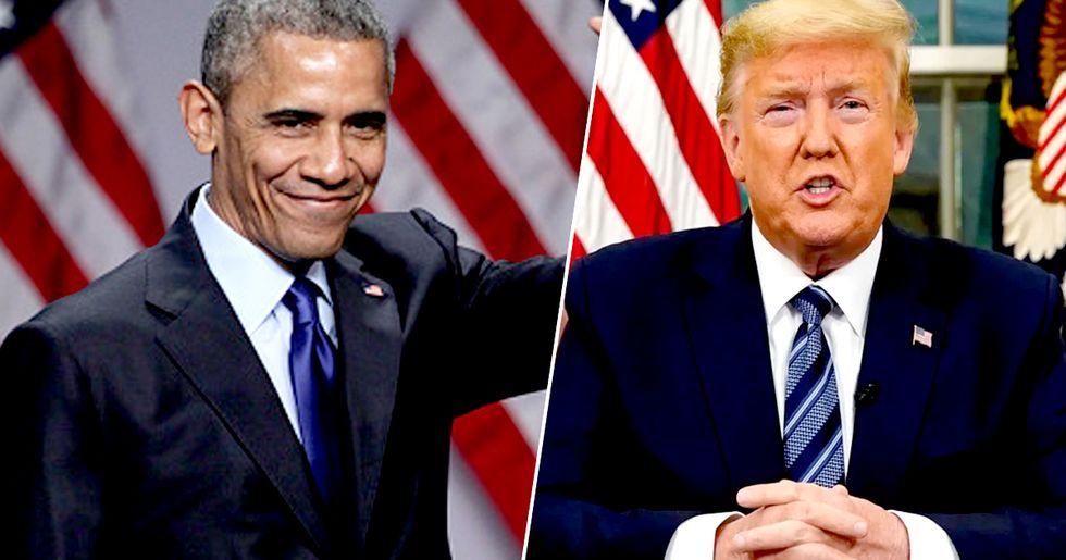 Obama Slams Trump over 'Chaotic' Response to Coronavirus Pandemic