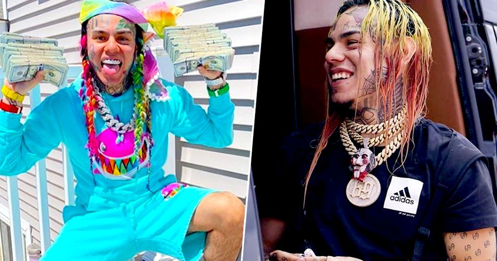 Tekashi 6ix9ine Gets Roasted after Asking Fans to Describe Him in One Word