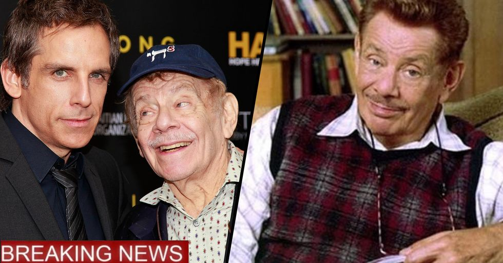 Comedian and Father of Ben Stiller, Jerry Stiller, Dies Aged 92