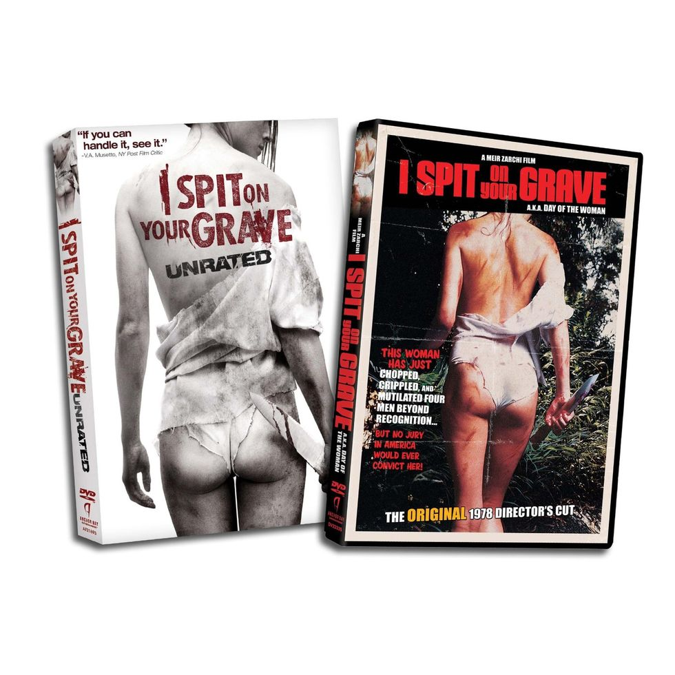 Savage Revenge: I Spit On Your Grave On Blu-ray & DVD