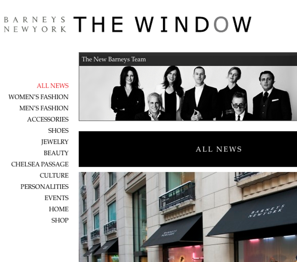 Barneys Launches a Blog + Brinkley Heads to Broadway in Today's Style Scraps