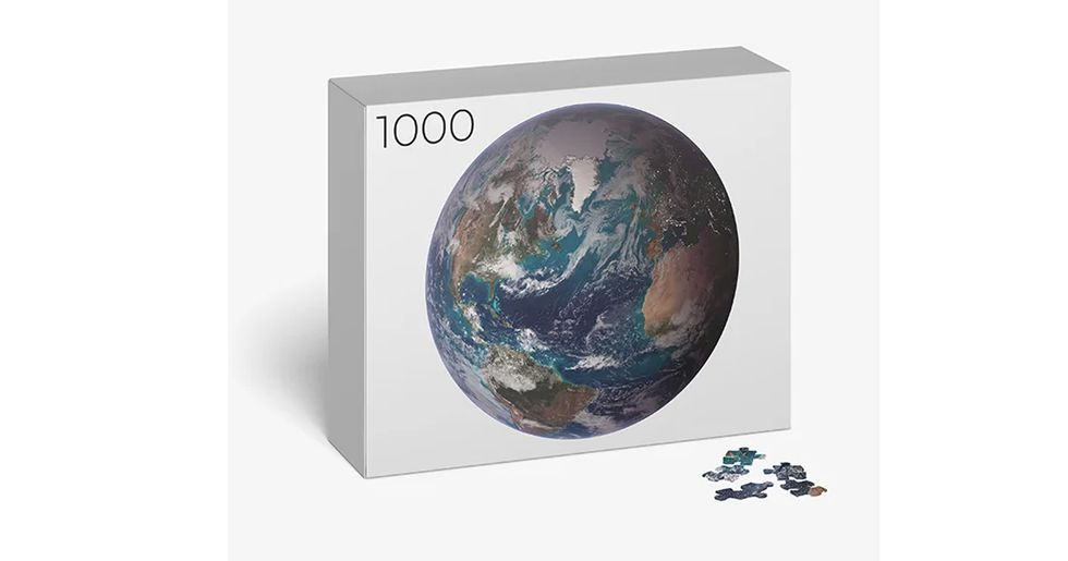1,000-Piece Earth Jigsaw is Out of This World