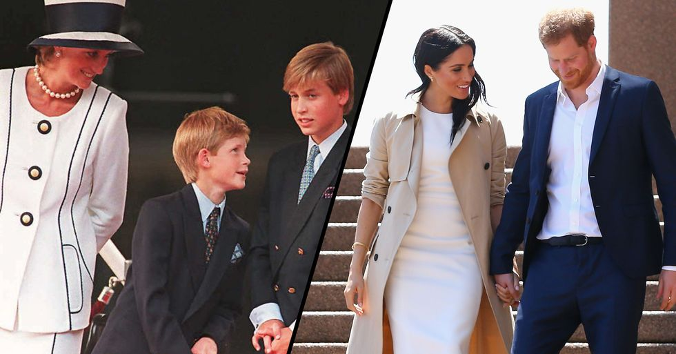 Psychic Claims Princess Diana Has Told William to 'Save' Harry in Message From Beyond the Grave