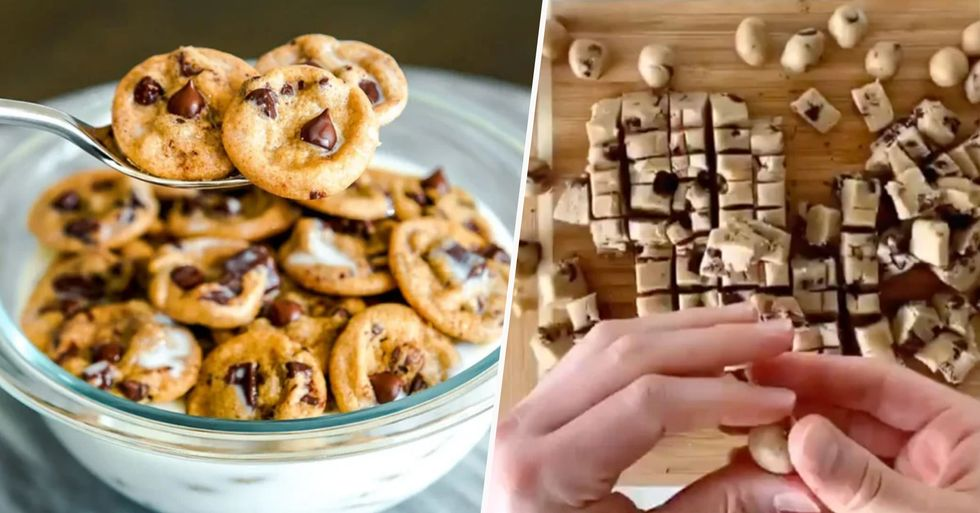 People Are Making Tiny Chocolate Chip Cookies Into Cereal and I Need Some Right Now