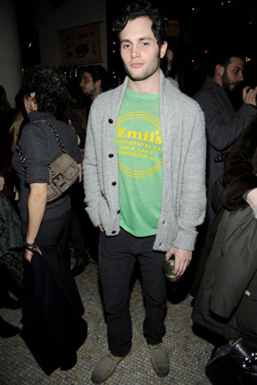 """Penn Badgley on His """"Bottom of the Bracket"""" Look and What's In Store For the Future"""