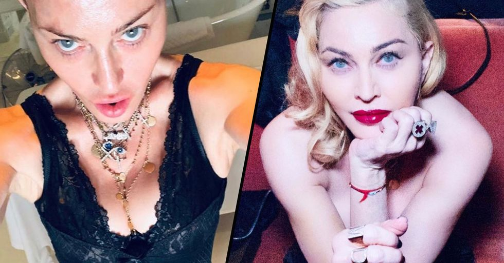 Madonna Ripped by Fans for 'Worst Butt Implants Ever' After Sharing Revealing Selfie