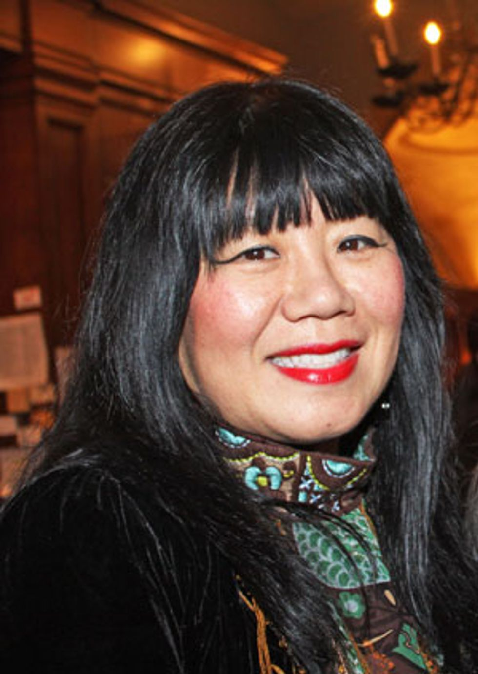 """Anna Sui on Best Coast, Nancy Mitford and Her Upcoming """"Ballet Russes Mod"""" Collection"""