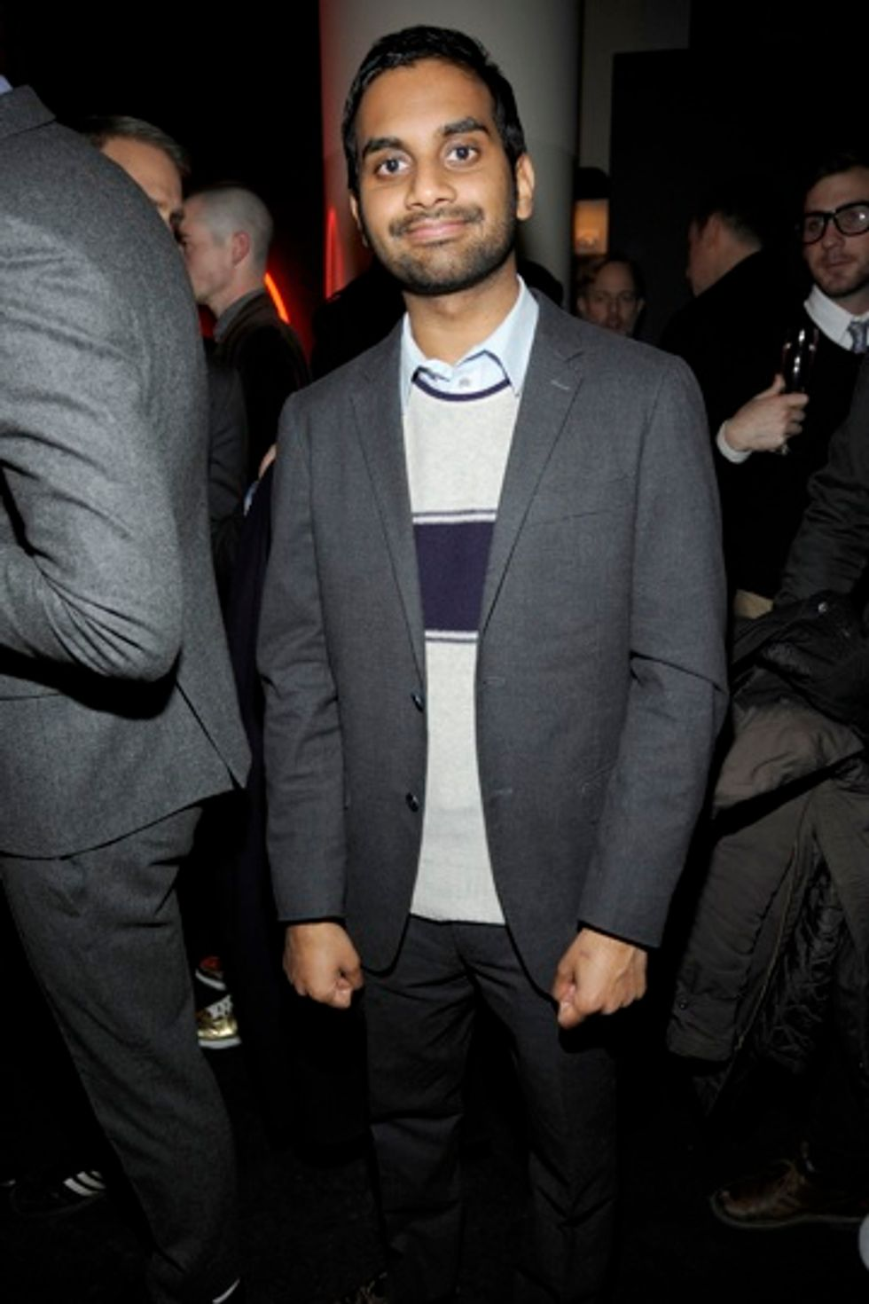 Aziz Ansari Loves Him a Pig in a Blanket, and Things of That Nature.