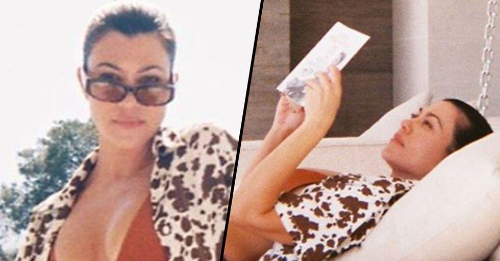 Kourtney Kardashian Claps Back at Body Shamer After Gaining Weight