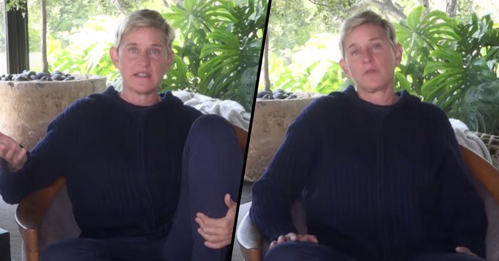 Ellen DeGeneres Finally Responds to Allegations of Cruel Behavior