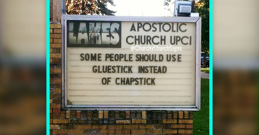 19 Hilariously Naughty Church Signs Gone Wild