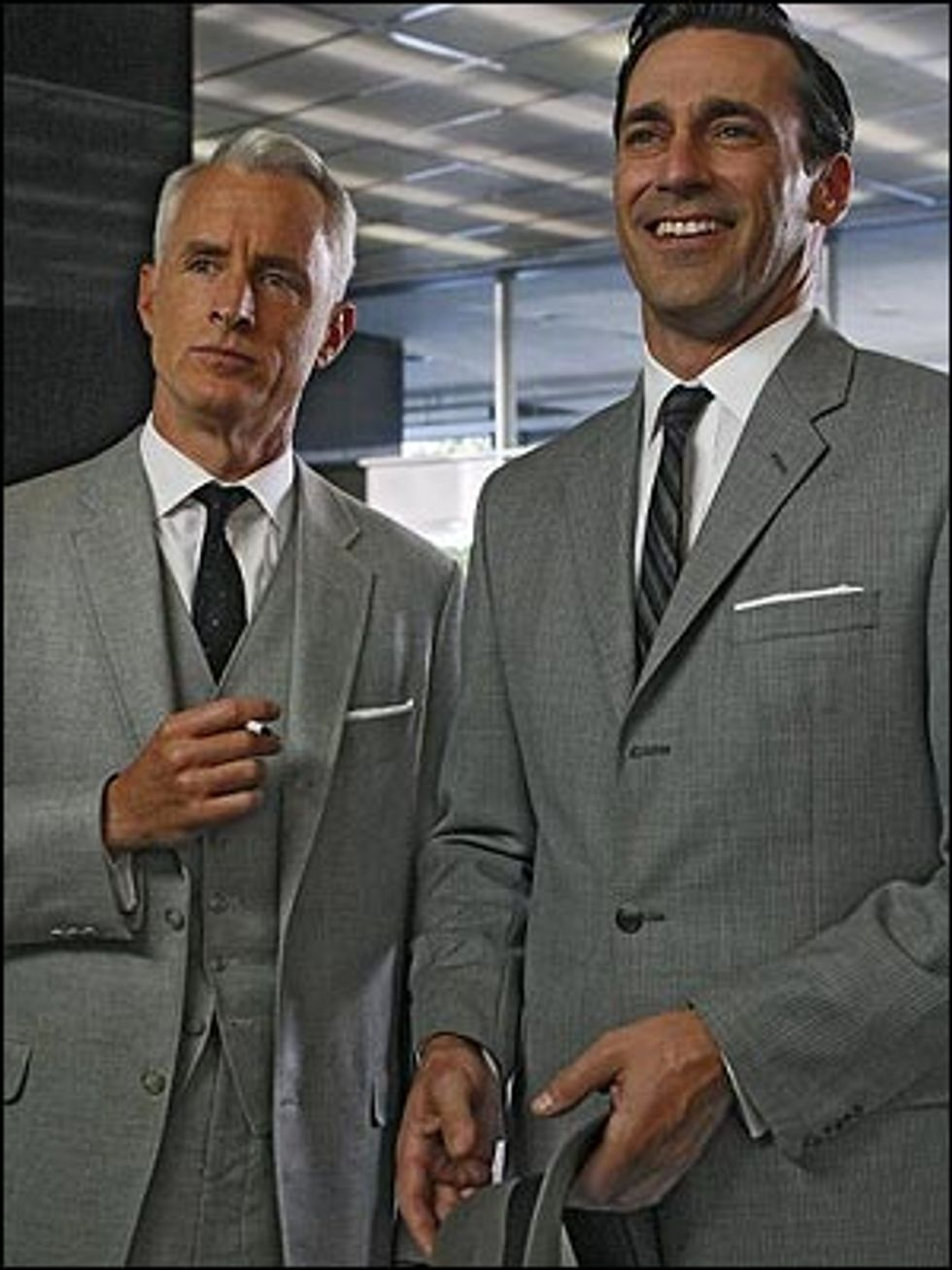 Eight Items or Less: Brooks Brothers Does Mad Men and Rhea Does N.E.R.D.