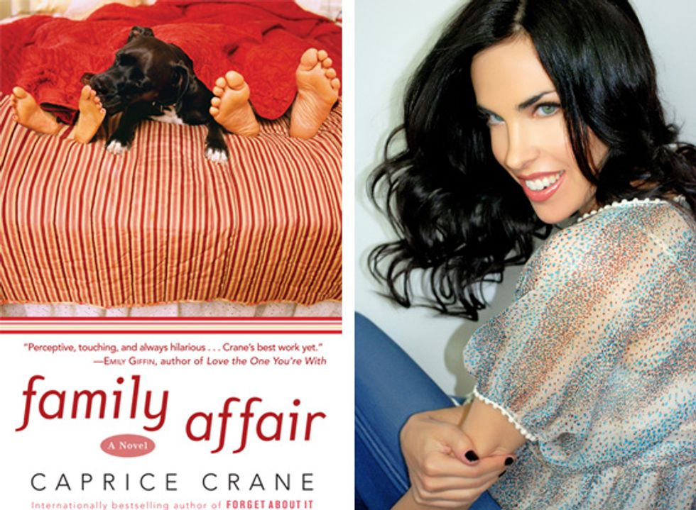 Caprice Crane Chats About Her New Novel Family Affair