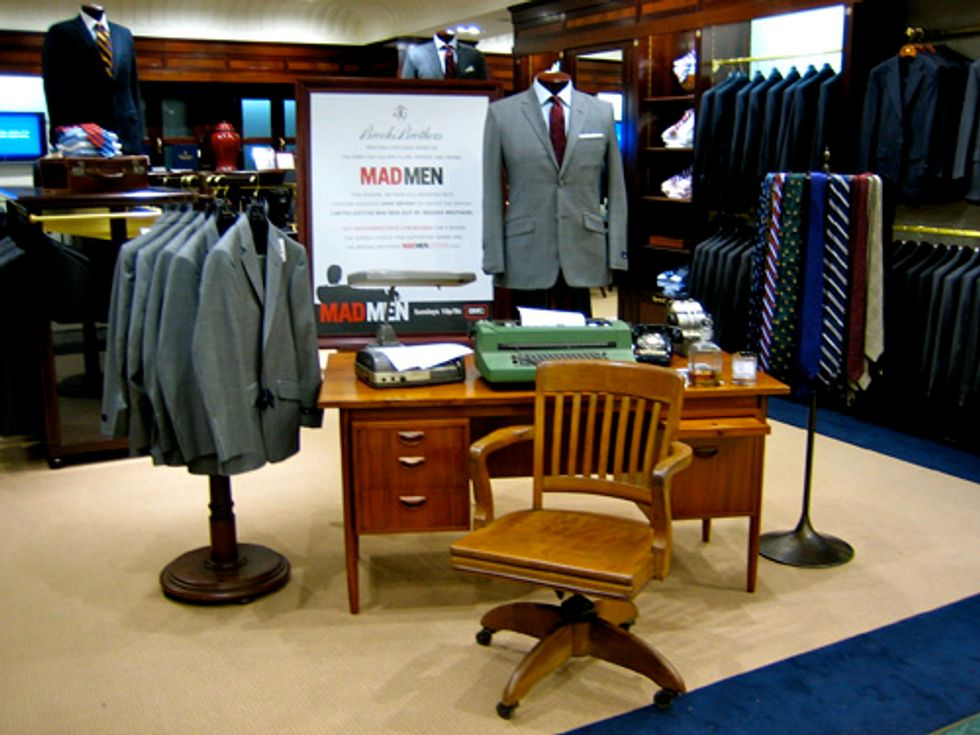 """Brooks Brothers  Launches Their """"Mad Men Edition"""" Suit!"""