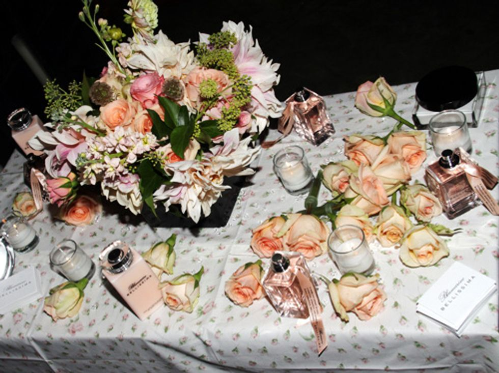 About Last Night... The Blumarine Bellissima Perfume Launch at the Gramercy Park Hotel