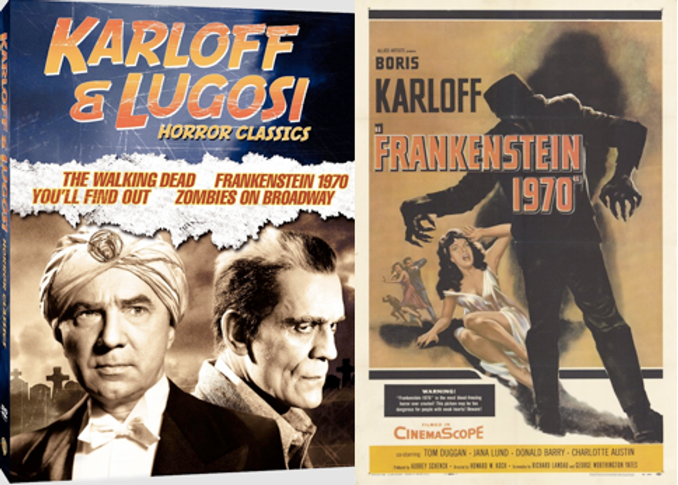 Karloff & Lugosi Horror Classics On DVD!
