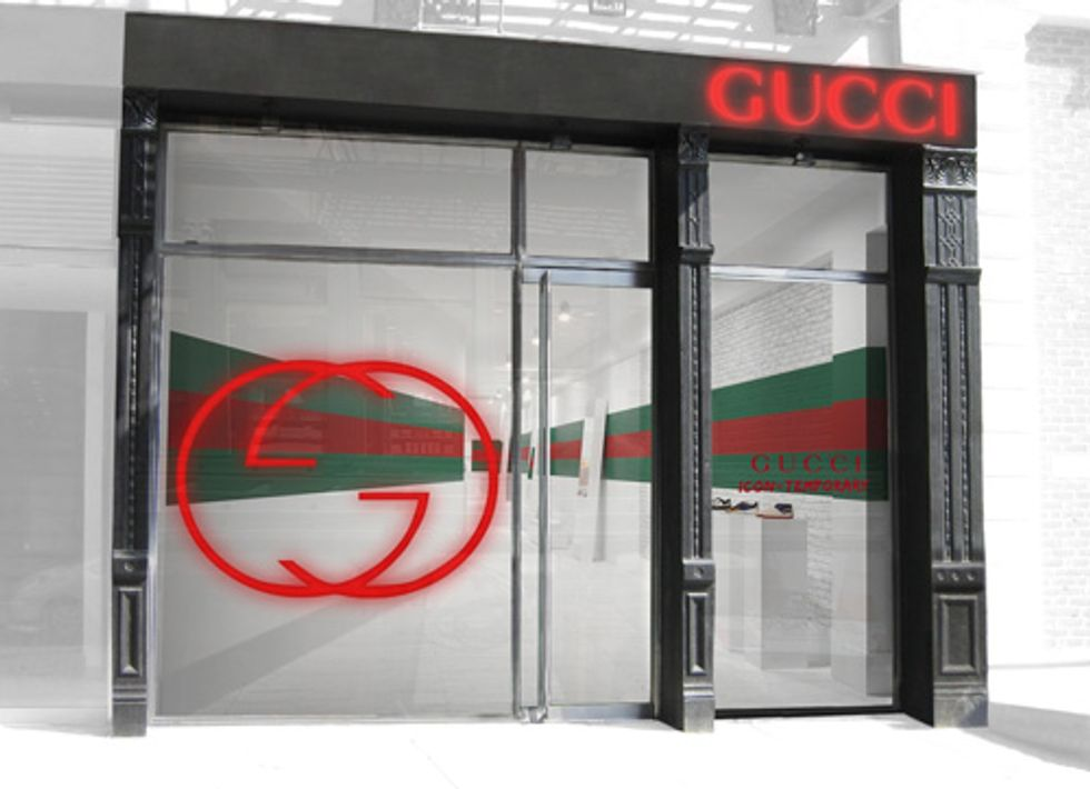 Storefront: Gucci Goes Pop-up