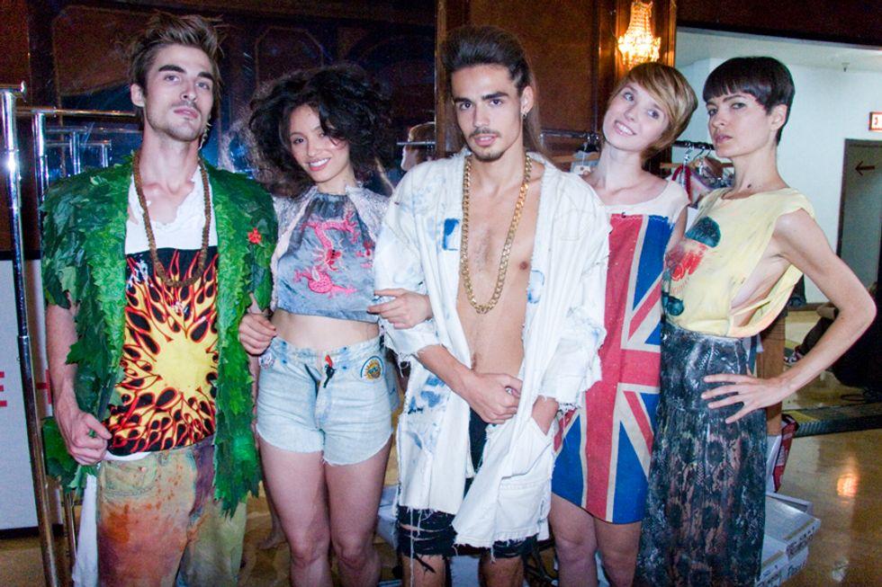 L.A. Fashion Week: Bohemian Society