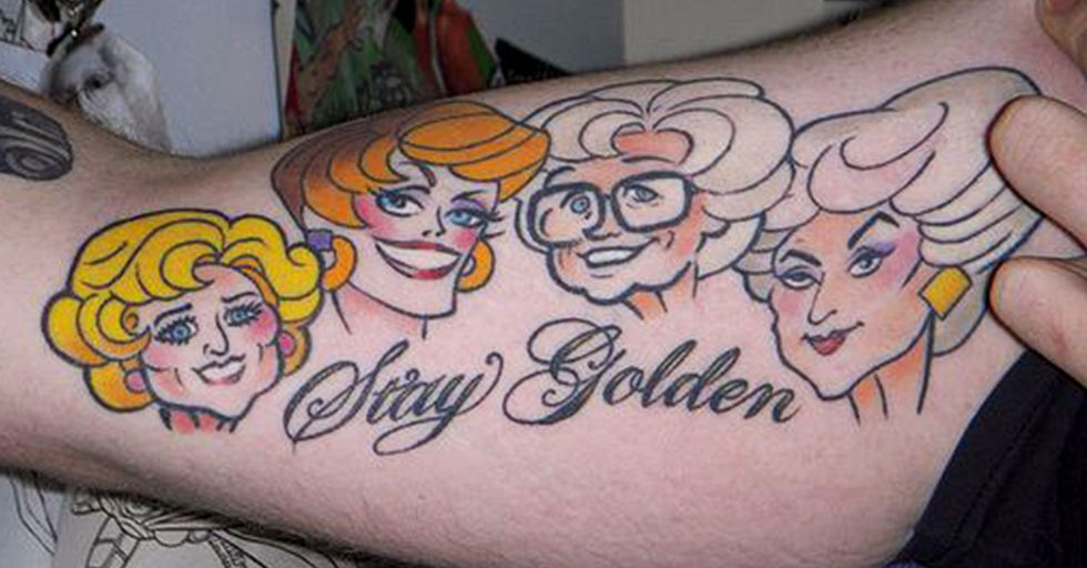 These People Decided It Was a Good Idea to Get a 'Golden Girls' Tattoo
