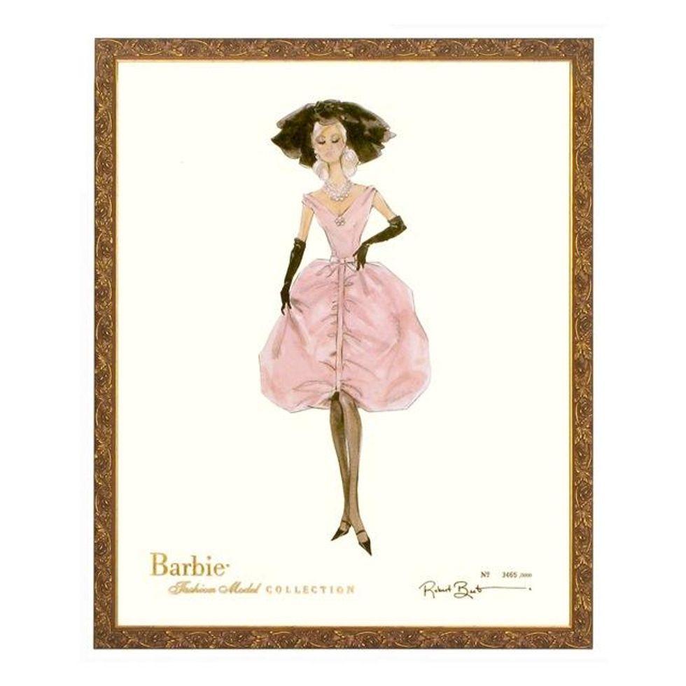 Paper Dolls: Mattel's New Barbie Fashion Prints
