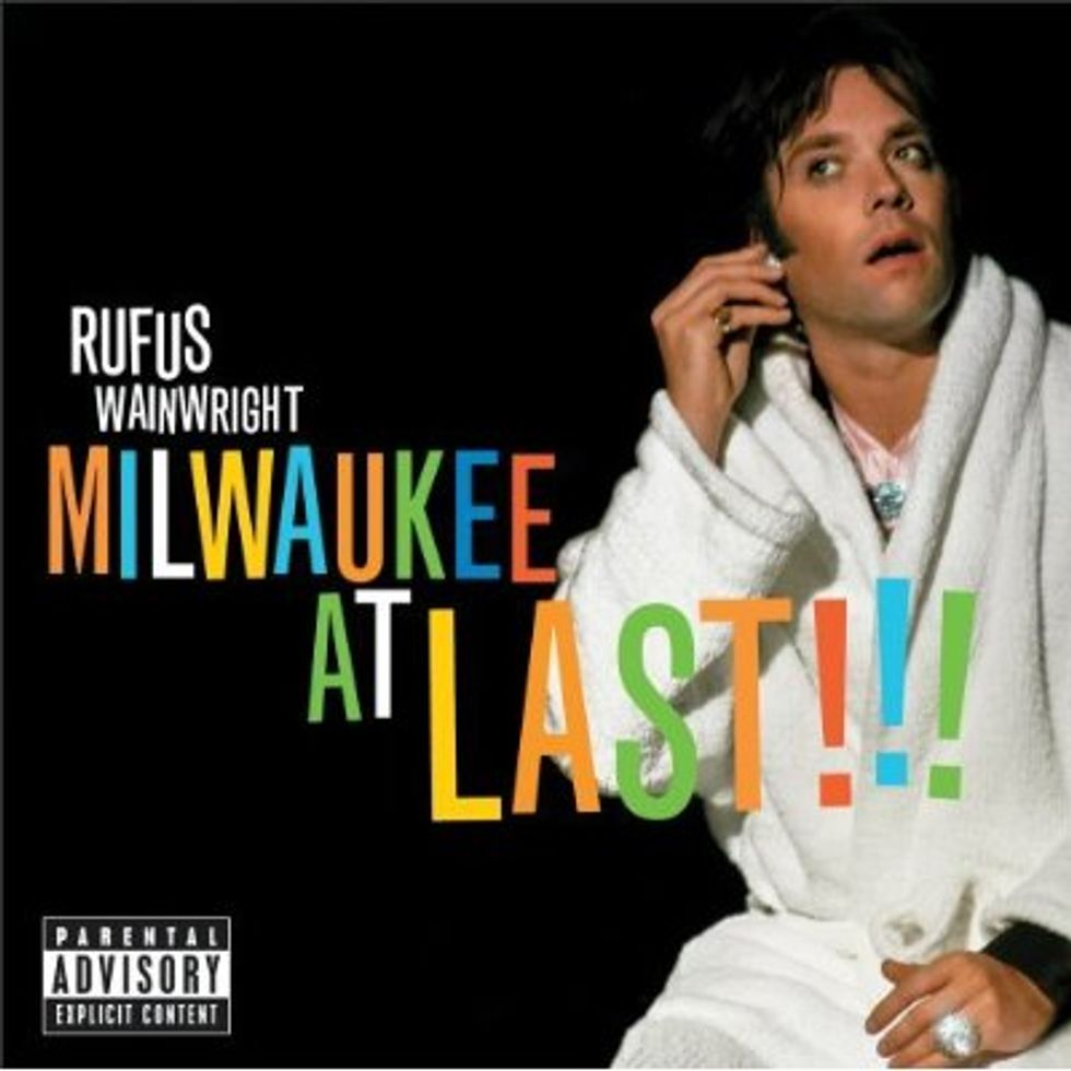 Rufus Wainwright Visits Milwaukee at Last (And There's a DVD to Boot!)