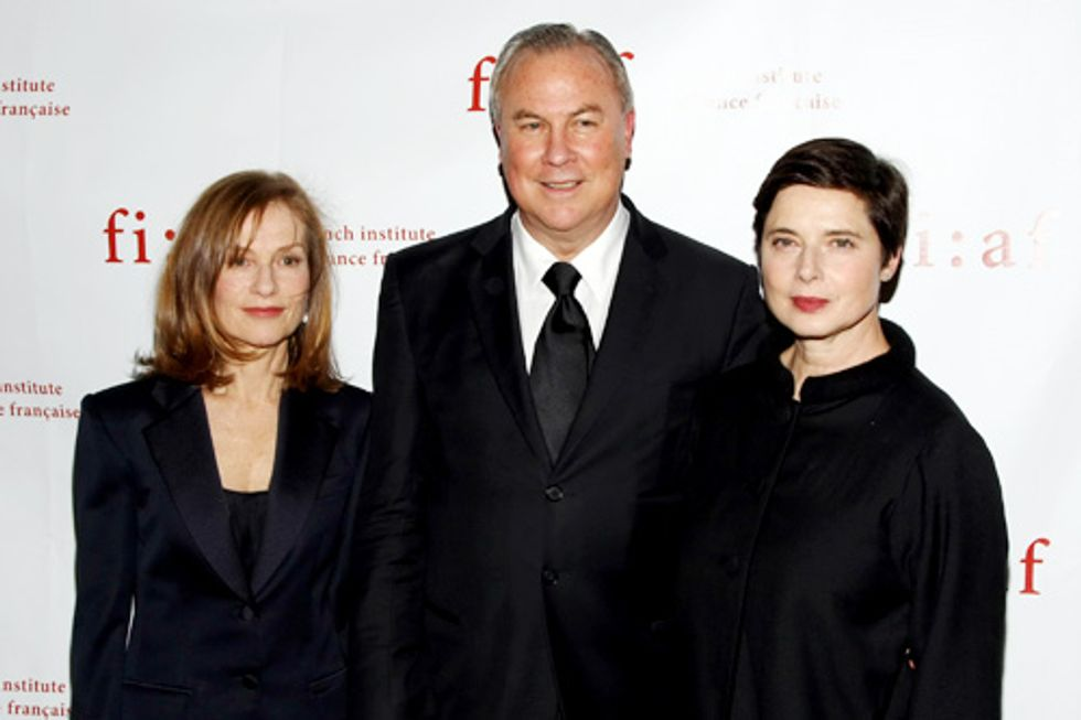 Isabelle Huppert, Isabella Rossellini, and FIAF Honor Robert Wilson at the Plaza
