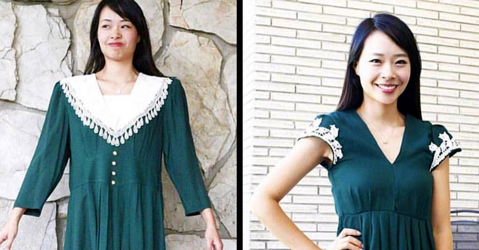 29 Transformed Thrift Store Outfits You Have to See to Believe