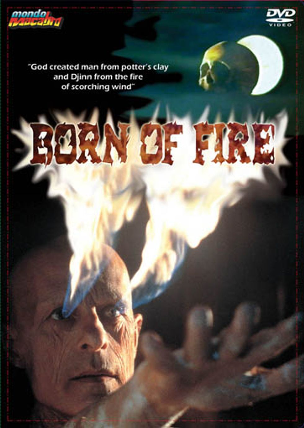 Born Of Fire On DVD