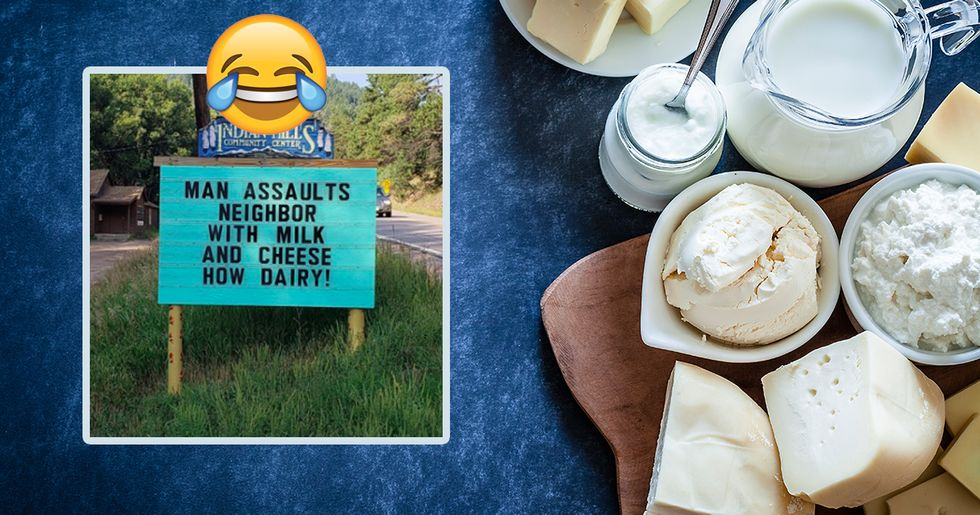 30 Hilarious Puns That Have Graced This One Sign Over the Years