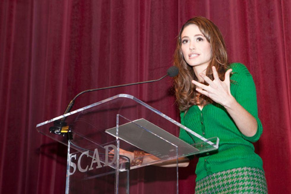 "Emmy Rossum, Ben Foster, and ""Cute Nugget"" Scott Caan Hit the Savannah Film Fest"