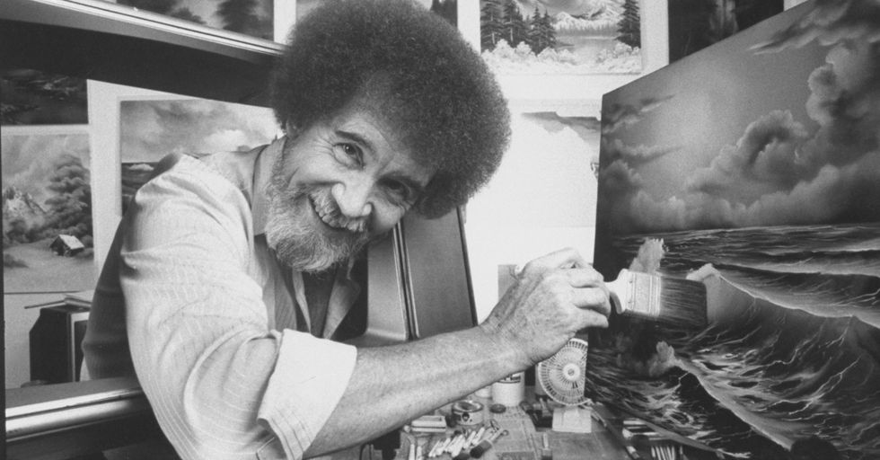 25 Shocking Facts About the Real Bob Ross Behind Those 'Happy Little Trees'