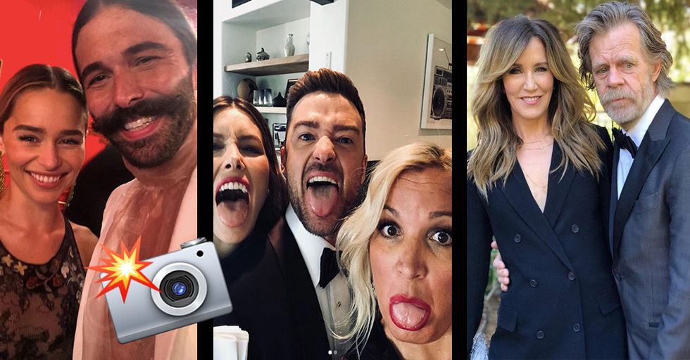 15 Stunning Celebrity Instagram Posts From the 2018 Emmys