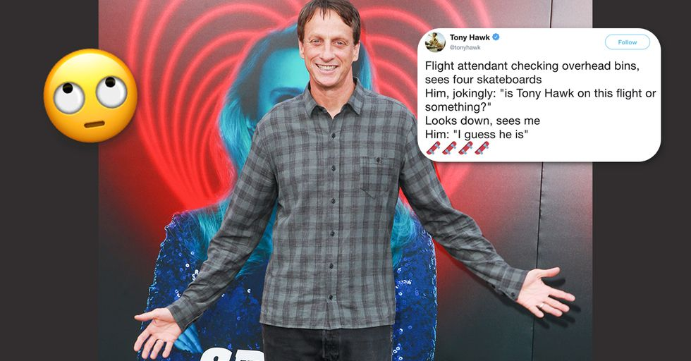 Tony Hawk is a Savage on Twitter and Finds it Comical When People Don't Recognize Him