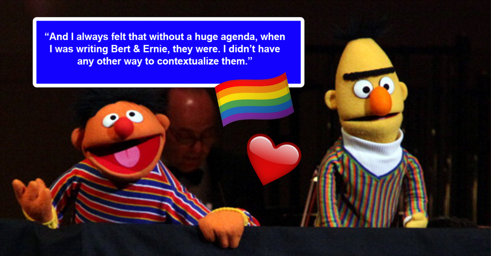 Bert and Ernie Are Actually Gay, Says Sesame Street Writer